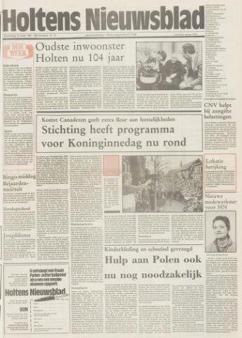 Holtens Nieuwsblad 1987-03-12