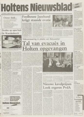 Holtens Nieuwsblad 1995-02-09
