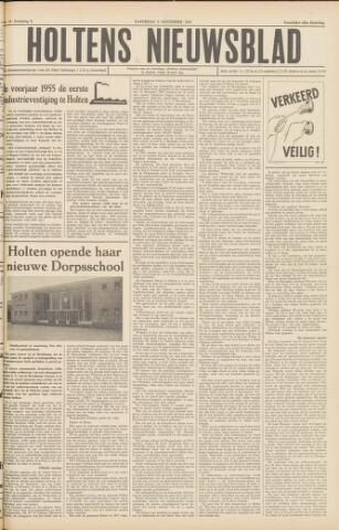 Holtens Nieuwsblad 1954-11-06
