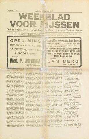 Weekblad voor Rijssen 1933-01-28