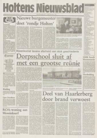 Holtens Nieuwsblad 1994-04-28