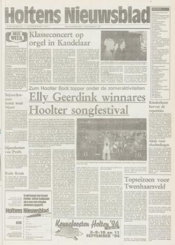 Holtens Nieuwsblad 1994-09-01