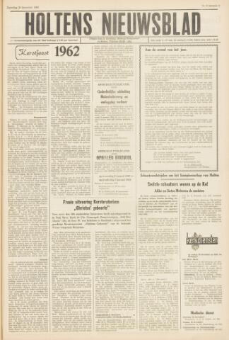Holtens Nieuwsblad 1962-12-29