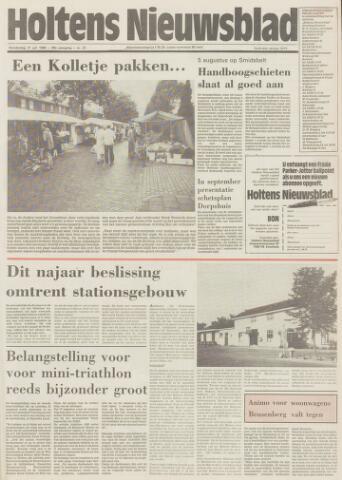 Holtens Nieuwsblad 1986-07-31
