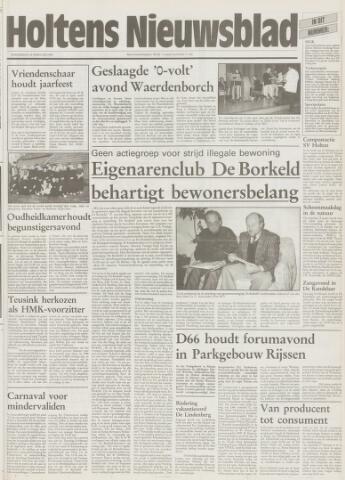 Holtens Nieuwsblad 1995-02-16