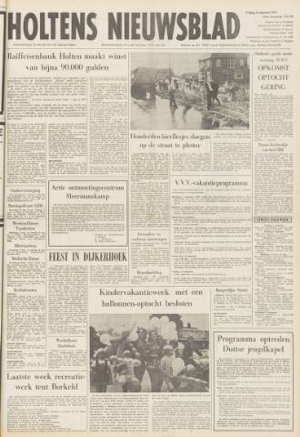 Holtens Nieuwsblad 1972-08-04