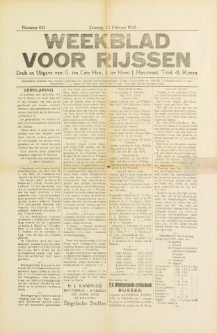 Weekblad voor Rijssen 1932-02-20