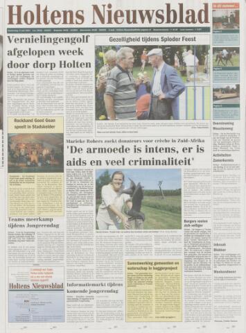 Holtens Nieuwsblad 2003-07-17