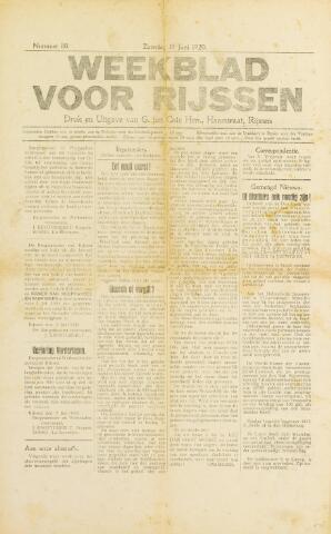 Weekblad voor Rijssen 1920-06-19