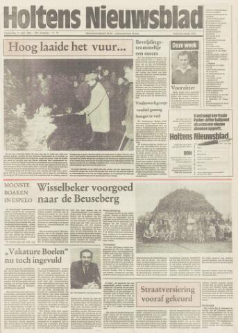 Holtens Nieuwsblad 1985-04-11