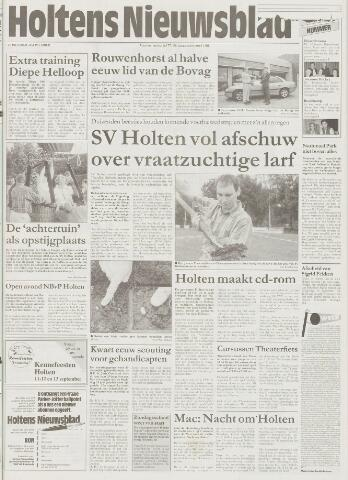 Holtens Nieuwsblad 1997-09-04