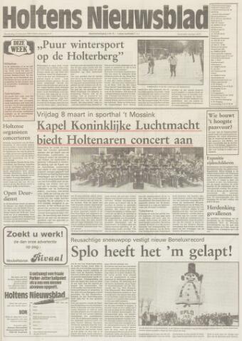 Holtens Nieuwsblad 1991-02-21