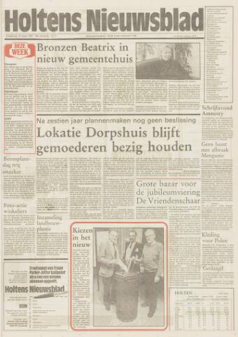 Holtens Nieuwsblad 1987-03-19