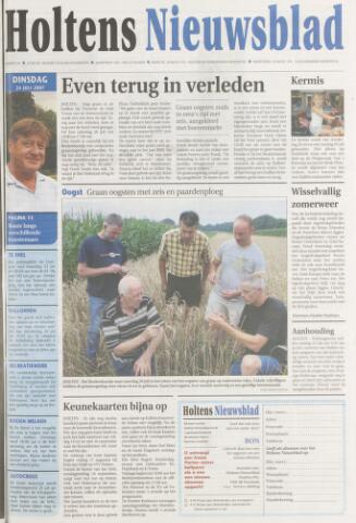 Holtens Nieuwsblad 2007-07-24