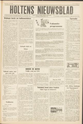 Holtens Nieuwsblad 1964-07-04