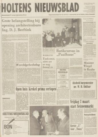 Holtens Nieuwsblad 1979-02-23