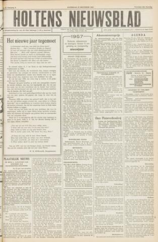 Holtens Nieuwsblad 1956-12-29