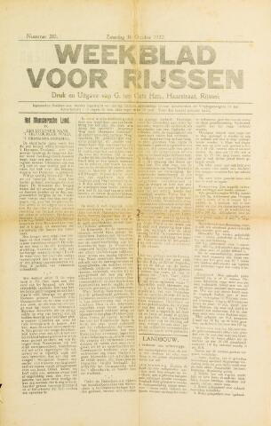 Weekblad voor Rijssen 1922-10-14