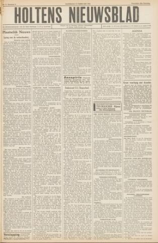 Holtens Nieuwsblad 1954-02-27