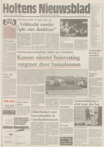 Holtens Nieuwsblad 1992-04-02