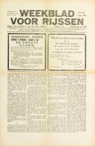 Weekblad voor Rijssen 1938-12-17