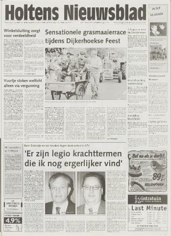 Holtens Nieuwsblad 2001-06-21