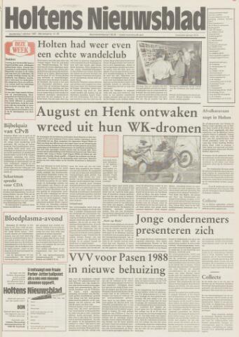 Holtens Nieuwsblad 1987-10-01