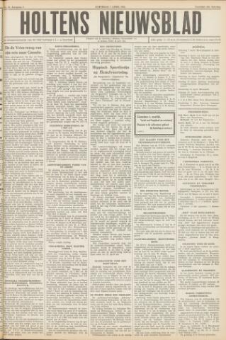 Holtens Nieuwsblad 1951-04-07
