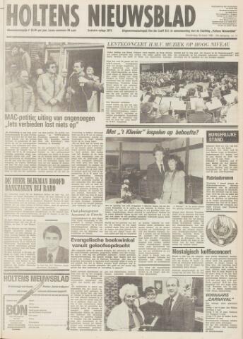 Holtens Nieuwsblad 1982-03-18