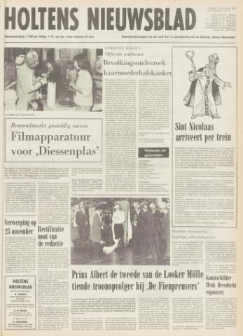 Holtens Nieuwsblad 1977-11-18