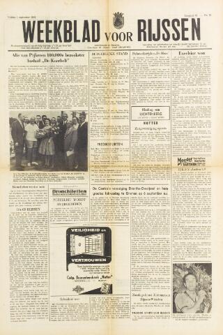 Weekblad voor Rijssen 1961-09-01