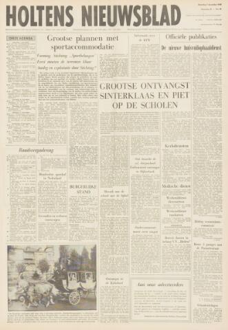 Holtens Nieuwsblad 1968-12-07