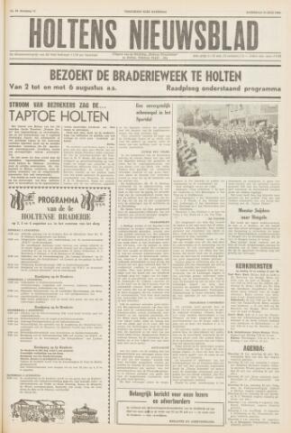 Holtens Nieuwsblad 1960-07-23