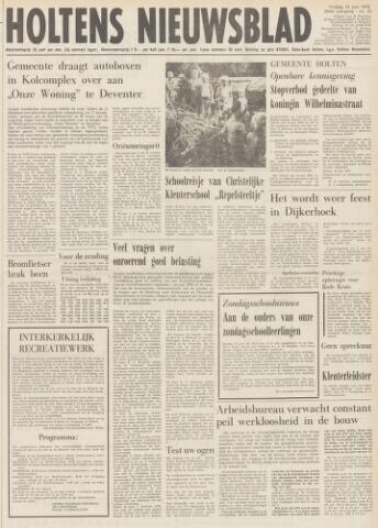 Holtens Nieuwsblad 1976-06-18