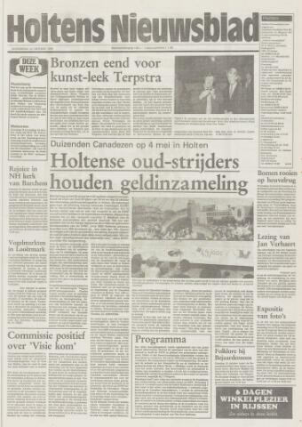 Holtens Nieuwsblad 1994-10-13