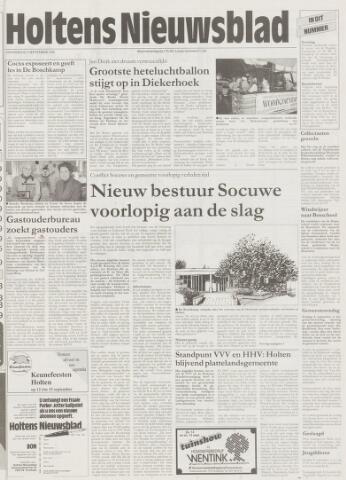 Holtens Nieuwsblad 1996-09-05