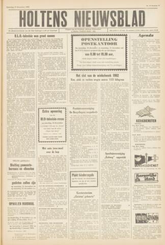 Holtens Nieuwsblad 1962-12-15