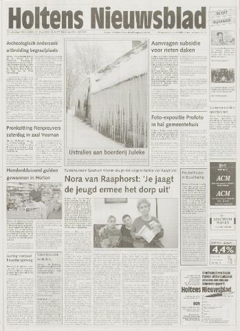 Holtens Nieuwsblad 2001-02-08
