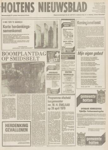 Holtens Nieuwsblad 1979-04-27