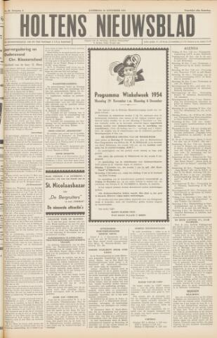 Holtens Nieuwsblad 1954-11-20