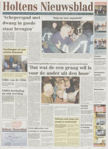 Holtens Nieuwsblad 2002-11-07