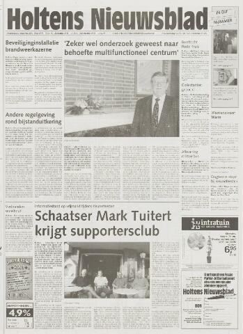 Holtens Nieuwsblad 2001-08-23