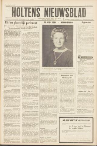 Holtens Nieuwsblad 1964-05-02