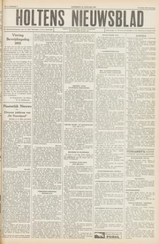 Holtens Nieuwsblad 1955-01-22
