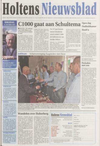 Holtens Nieuwsblad 2007-10-16