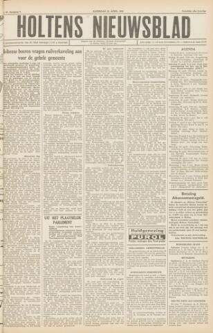Holtens Nieuwsblad 1956-04-21