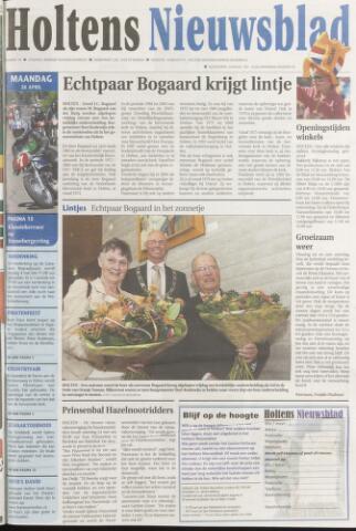 Holtens Nieuwsblad 2008-04-28