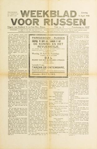 Weekblad voor Rijssen 1938-04-16