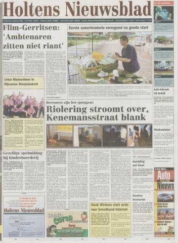 Holtens Nieuwsblad 2002-08-01