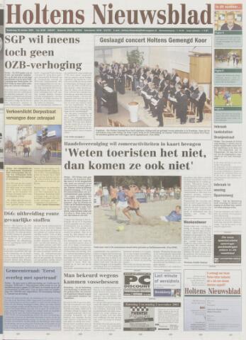 Holtens Nieuwsblad 2003-10-30